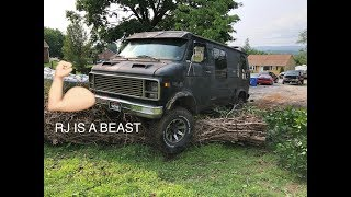 RJ'S 4WD GETS TESTED...IT WORKS, WELL IT DID WORK!!!