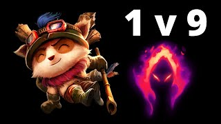 Teemo vs 9 [Full Game Play]