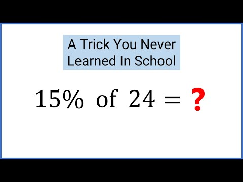 Calculate Nearly Any Percentage In Your Head With Simple Tricks