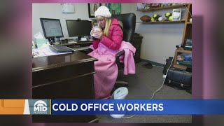 Is It Too Cold In Your Office?