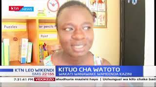 Kituo cha Watoto: Mahala pa kuwaacha watoto mchana, wakati wanawake wameenda kazini