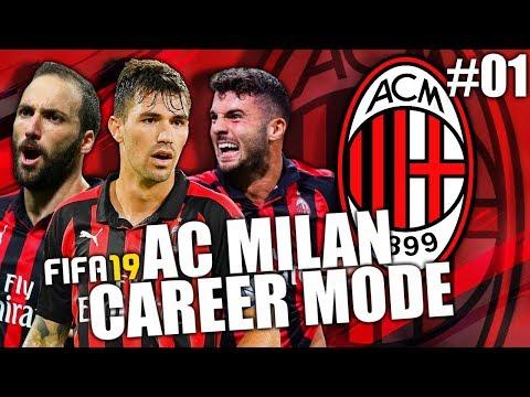 FIFA 19   AC MILAN CAREER MODE   #01   HE'S BACK!
