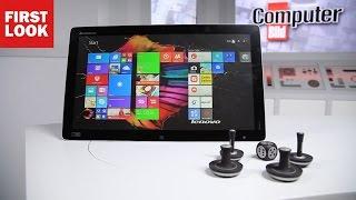Lenovo Horizon 2: Riesen-Tablet ausprobiert