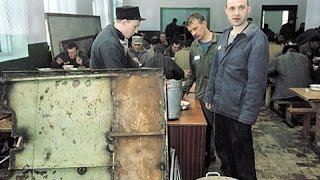 Баня и петухи в тюрьме
