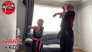 Children's Beginners Karate – A Day – W/C 25th May 2020