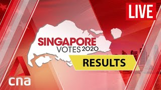 Watch CNA's live and comprehensive coverage of the 2020 Singapore General Election results on Jul 10. All 93 seats are being contested in 31 constituencies across Singapore.  #GE2020  For more videos and updates: https://sgvotes.sg   Subscribe to our channel here: https://cna.asia/youtubesub   Subscribe to our news service on Telegram: https://cna.asia/telegram  Follow us: CNA: https://cna.asia CNA Lifestyle: http://www.cnalifestyle.com  Facebook: https://www.facebook.com/channelnewsasia Instagram: https://www.instagram.com/channelnewsasia Twitter: https://www.twitter.com/channelnewsasia