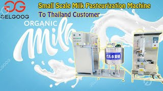 Yogurt production line pasteurization and filling Machine Reasonable Price Sterilization equipment youtube video