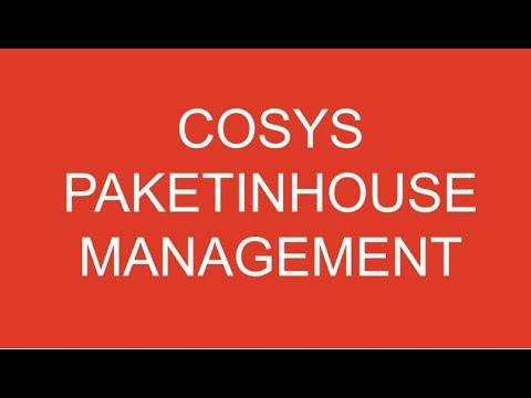 Hauspostverteilung | Wie funktioniert Paket Management Inhouse mit COSYS Software