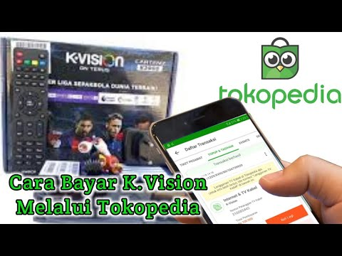 Cara Bayar K Vision Melalui Tokopedia | BNI Mobile Banking