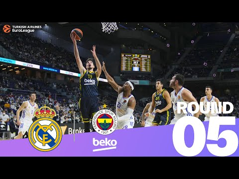 RS Round 5 Highlights: Madrid 70-69 Fenerbahce