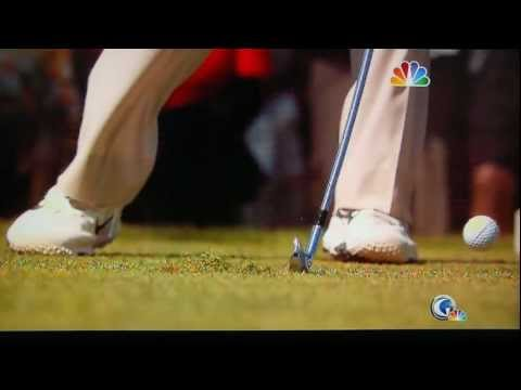Tiger Woods 2-Iron Stinger / Slo-Mo (68,000 fps) 2012 US Open (The Olympic Club)