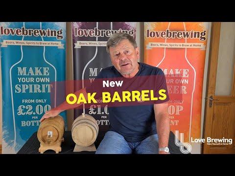 New Style Oak Barrels For Spirit, Wine or Beer