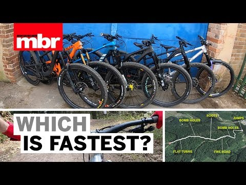 Which is Fastest | Santa Cruz VS Specialized VS Canyon VS Yeti and more | Mountain Bike Rider
