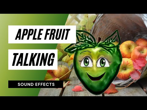 Apple Talking - Sound Effect - Animation