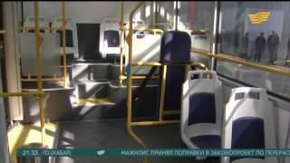 В Алматы первые электроавтобусы будут работать в тестовом режиме