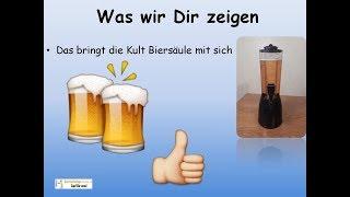 ► Biersäule Test ► Kult 4 Liter Getränkesäule ✅✅