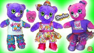 Shopkins Build-A-Bear Bears with Surprise Exclusive Shopkin -  Cookie Swirl C Video