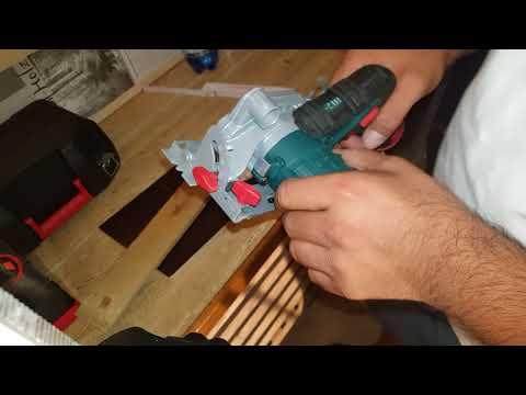 Parkside 12v akku Handkreissäge Wahnsinns Gerät zum unschlagbaren Preis! TEST
