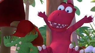Мультики для детей - Кокоша, Маленький Дракон - Гриб - всему голова