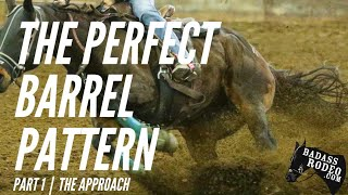 How To Run The Perfect Barrel Racing Pattern! Part 1- The Approach To The First Barrel