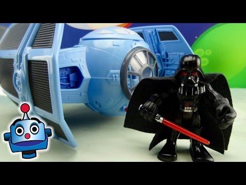 STAR WARS DARTH VADER y TIE ADVANCED FIGHTER - Juguetes de Star Wars