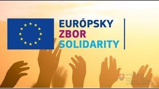 Európsky zbor solidarity: správa v slovenskom posunkovom jazyku