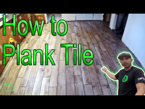 How to install 6×36 Plank Tile
