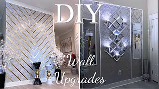 WALL UPGRADES IN A RENTAL! HOW TO COVER LARGE WALLS| HOME IMPROVEMENT DIY