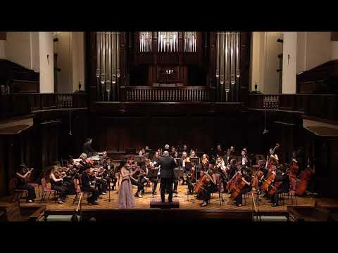 Violin Concerto No. 2 by Henryk Wieniawski, Hana Burgess and Pomona College Orchestra