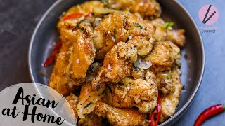 The BEST Salt and Pepper Chicken Wings