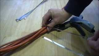 Stainless steel cable tie guns