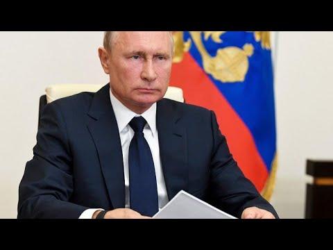 Σταδιακή άρση των περιοριστικών μέτρων ανακοίνωσε ο Βλαντίμιρ Πούτιν…