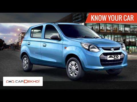 Know Your Maruti Alto 800 | Review of Features | CarDekho.com