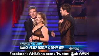 Nancy Grace Wardrobe Malfunction On Dancing With The Stars 2011
