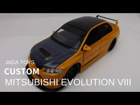 Mitsubishi Lancer Evolution VIII Evo 8 Jada toys Custom