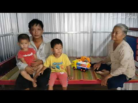 Trao Quà Của Cô Hải Gồm Có Tủ, Giường, Bàn Đến Gia Đình Anh Trự | Trần Quốc Vương 14/10/2019