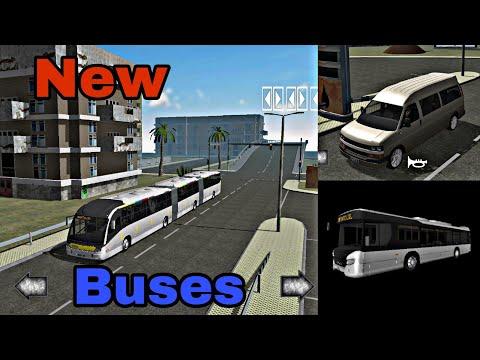 Public Transport Simulator: Three new buses!!!