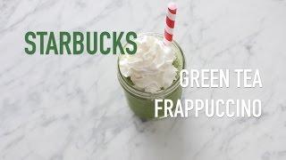 DIY: STARBUCKS GREEN TEA FRAPPUCCINO