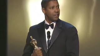 Denzel Washington Wins Best Actor: 2002 Oscars