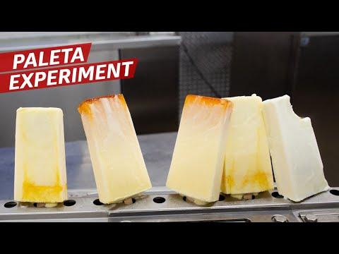 Making Cool Refreshing Flan Paletas