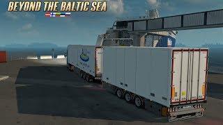 ETS2 Volvo FH16 🚚 Mit Überfahrt mit dem Gigaliner 🔵 #916 Baltikum - Tour