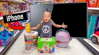 Anything 6 Year Old Everleigh Can Act Out, We'll Pay For!!! - Challenge