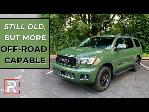 The 2020 Toyota Sequoia TRD Pro is an Off-Road Ready Old Truck