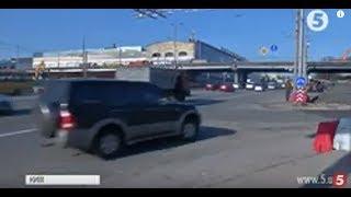 Шулявський міст на реконструкції: водіям довелося змінити свої маршрути