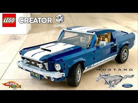 Vidéo LEGO Creator 10265 : Ford Mustang