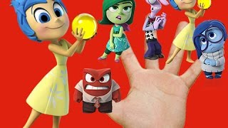 Finger Family Inside Out Anger Disgust Fear Joy Sadness -ABC Kid's World
