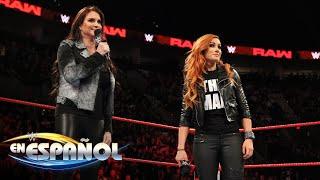 Stephanie McMahon invitó a Becky Lynch a Raw: 7 de Febrero, 2019