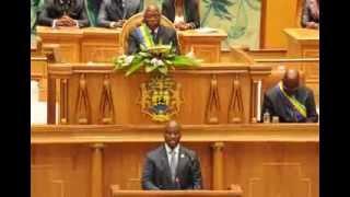 preview picture of video 'Discours du PAN CI Soro Kigbafori Guillaume à Libreville- Part 1'
