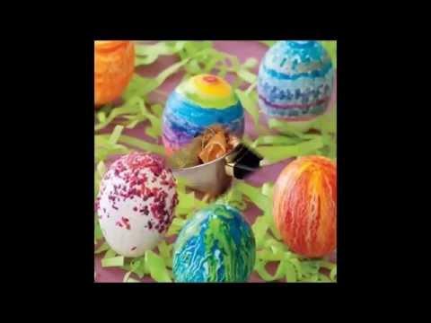 Самые интересные способы покраски яиц натуральными красителями