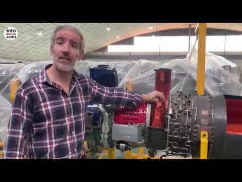 Así funciona el motor de un F-5. Vídeo: Ejército del Aire